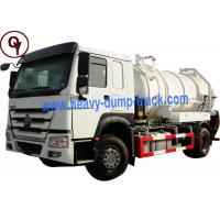 Cheap 290HP OEM 6 Wheel Stainless Steel Water Truck with Level Sensor for sale