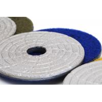 """Buy cheap Fast Change Diamond Polishing Pads , 4"""" Dry Concrete Polishing Pads Extremely from wholesalers"""
