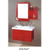 Quality Simple silver mirror 86 X 46 / cm Square Sinks Bathroom Vanities customized materials wholesale