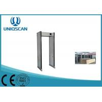 Quality UZ800 Multiple Size Walk Through Metal Detector For Government Office wholesale