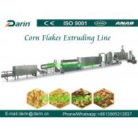 Quality Rosted Nestle / Kelloggs Bulk Oats Cereal Corn Flakes Processing Line with CE ISO9001 wholesale