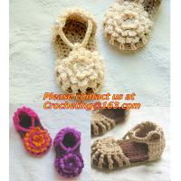 Quality Baby Boy Girl Infant Knit Shoes Handmade Crochet Booties wholesale