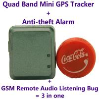 Quality V8 Mini GPS Tracker+Anti-theft Alarm+Spy GSM Remote Audio Transmitter Listening Bug W/ Website/APP/SMS Tracking wholesale
