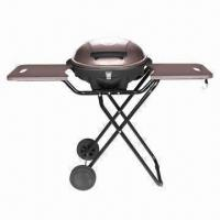 Quality Electric Indoor/Outdoor Grill, Easy-to-clean and Non-stick Cooking Plates wholesale