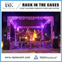 China Platform only $49.9 portable concert stage portable stage curtain backdrop outdoor Concert Stage Sale on sale