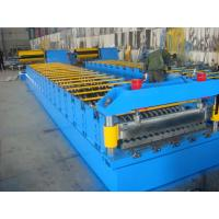 Quality Galvanized Metal Roof Panel Roll Forming Machine , Glazed Tile Roll Forming Machine wholesale
