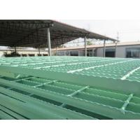 Quality PVC Coated / Galvanized Serrated Grating For Electricity / Petrochemical wholesale