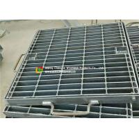 Quality Angle Bar Carbon Steel Bar Grating Panel , High Load Steel Grate Decking wholesale