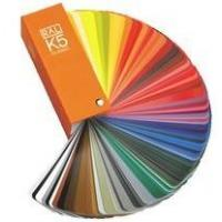 Quality German Ral k5 color cards for fabric wholesale