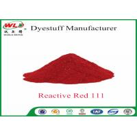 Quality Polyester Fabric Dye C I red 111 Reactive Red Polyester Dye Tie Dyeing wholesale