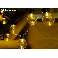 Quality Wedding Solar Powered Holiday Lights , Solar Power Led Lights 100 Bulb String Garland wholesale