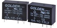 Cheap 8A 12A Subminiature PCB Power Photovoltaic Relay GAN 894 3-110VDC for sale