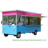 Quality Small Commercial Mobile Kitchen Truck For Hot Dog Wagon Burrito Cooking And Selling wholesale