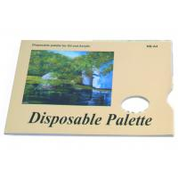 Quality Acrylic / Oil Painting Pad Disposable Palette Type , Artist Drawing Pad 48 sheets 58gsm wholesale