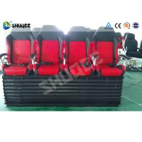 Quality Hydraulic 4DOF Motion Theater Chair With  Push Back /  Leg Tickle Effect wholesale
