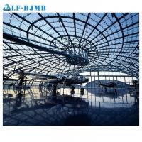 Cheap Prefabricated Steel Space Frame Structure Aircraft Maintenance Hangar Arch Roof for sale