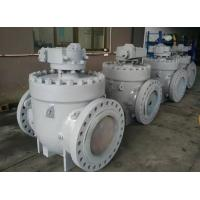 China Top Entry Soft Seated Ball Valve , ISO 5211 Anti Static API 6D Ball Valve on sale