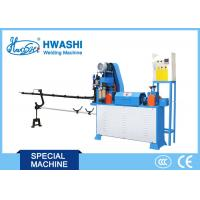 China Iron Wire Welding Machine , Automatic Steel Wire Straightening and Cutting Machine on sale