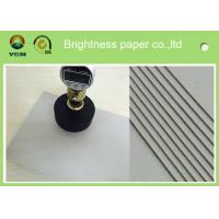 China 800gsm 1.5 Mm Grey Board Paper Bulk Chipboard Sheets For Jewelry Box on sale