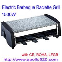 Electric Barbeque Raclette Grill