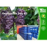 Quality Oxyfluorfen 24% EC Agriculture Selective Herbicide For Bermudagrass wholesale