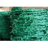 Quality Normal Twist / Reverse Twist Barbed Wire Fence 450mm - 960mm Diameter For Prisons wholesale
