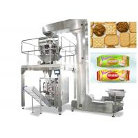 China Vertical Food Packing Machine For Biscuit / Chips Full Automatic Control on sale