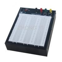 Quality Black Flameresistant Case Powered Breadboard with 2420 Point  White Board wholesale