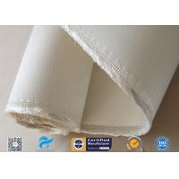 Buy cheap Asbestos free Satin Weave Silica Fabric Thermal Insulation 37oz High Silica from wholesalers