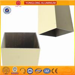 Quality Rectangle Powder Coated Aluminium Extrusions / 6063 6063A Aluminum Window Frame Profile wholesale