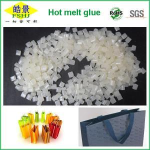 Quality EVA Type Hand Bag Sealing Hot Melt Glue , Packaging Hot Melt Adhesive Pellets wholesale