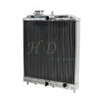 Quality Automotive 42MM Aluminium Car Radiators For HONDA Civic 1992 2000 Manual MT D15 D16 EK EG wholesale
