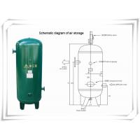 Quality Screw Portable Rotary Compressed Air Receiver Tank Replacement Low Pressure wholesale