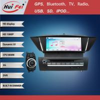 Quality Capacitive Touch Screen 800*480 Pixel 2 Din Car Radio For BMW X1 E84 With 3G Bluetooth Gps wholesale