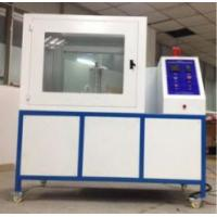 Quality ISO 8142 Flammability Testing Equipment Thermal Insulation Materials PLC Module Control Part wholesale
