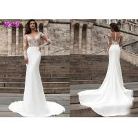 Quality Beach series button back Bohemian wedding dress Mermaid Turkey 2019 bridal gown wholesale