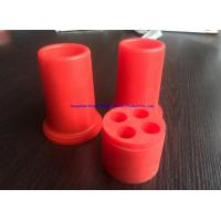 Quality 50 - 55Duro Red Resistant High Voltage Silicone (179C) End Plug wholesale