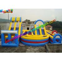 Quality Popular Sport Inflatables Obstacle Course , inflatable assault course With Playground wholesale