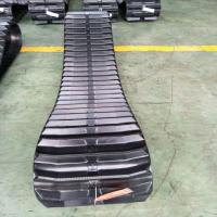 China Farm Machine Combine Harvester Rubber Track Conventional / Interchangeable Type on sale