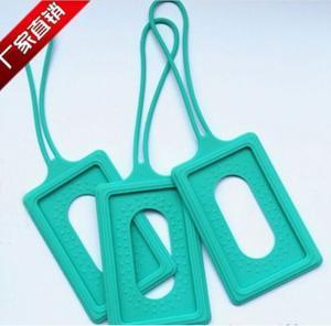 Quality silicone luggage tag , silicone luggage p brand ,silicone luggage tag case wholesale
