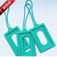 Quality silicone luggage tag , silicone luggage p brand ,silicone luggage tag case wholesale