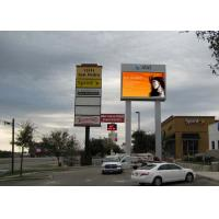 Quality P12 DIP Outdoor LED Screen Sign 1 / 4 Scan For Advertisement Media wholesale