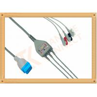 Marquette Ge Ecg Cables 11 Pin 3 Lead Ecg Cable Grabber AHA