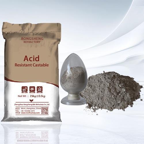 Cheap High Liquidity  Acid Resistant Castable for sale