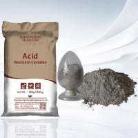 Cheap High Liquidity Acid Resistant Refractory Castable for sale