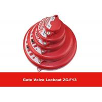 127mm  - 165mm Chemical Resistance Impact Safety Gate Valve Lockout