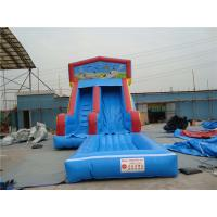 China Durable Inflatable Slip N Slide With Jump Blow Up Playhouse CE / EN14960 Certificate on sale