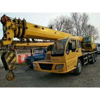 Quality 230hp XCMG Used Crane Truck 16t Lifting Capacity With Excellent Lifting Performance wholesale