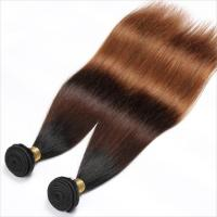 Quality 100% Pure 3 Tone Hair Weave 100Gram Human Hair Extensions No Chemical wholesale