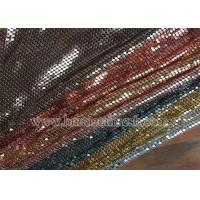 Quality Metal Mesh Sequin Chain Fabric wholesale